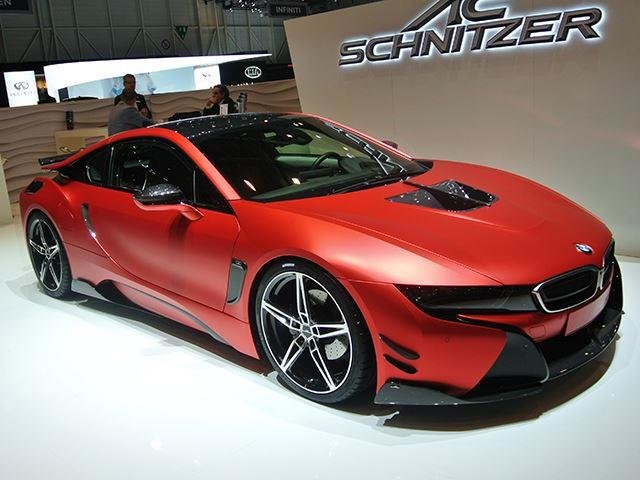 Latest The Ac Schnitzer Bmw I8 Is A Car That Looks Much Better In Free Download