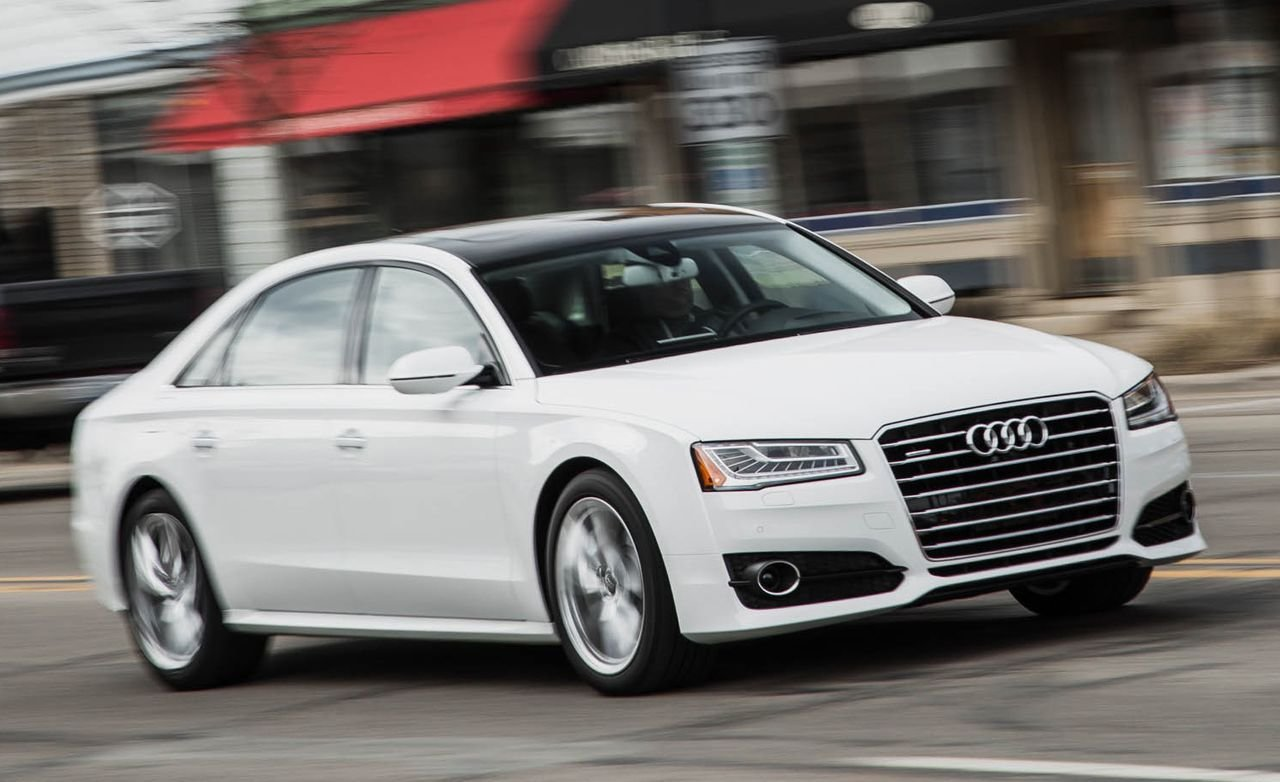 Latest 2016 Audi A8L 4 0T Sport Test Review Car And Driver Free Download