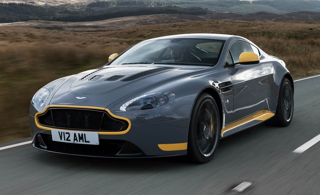 Latest 2017 Aston Martin V12 Vantage S Manual Drive – Review Free Download