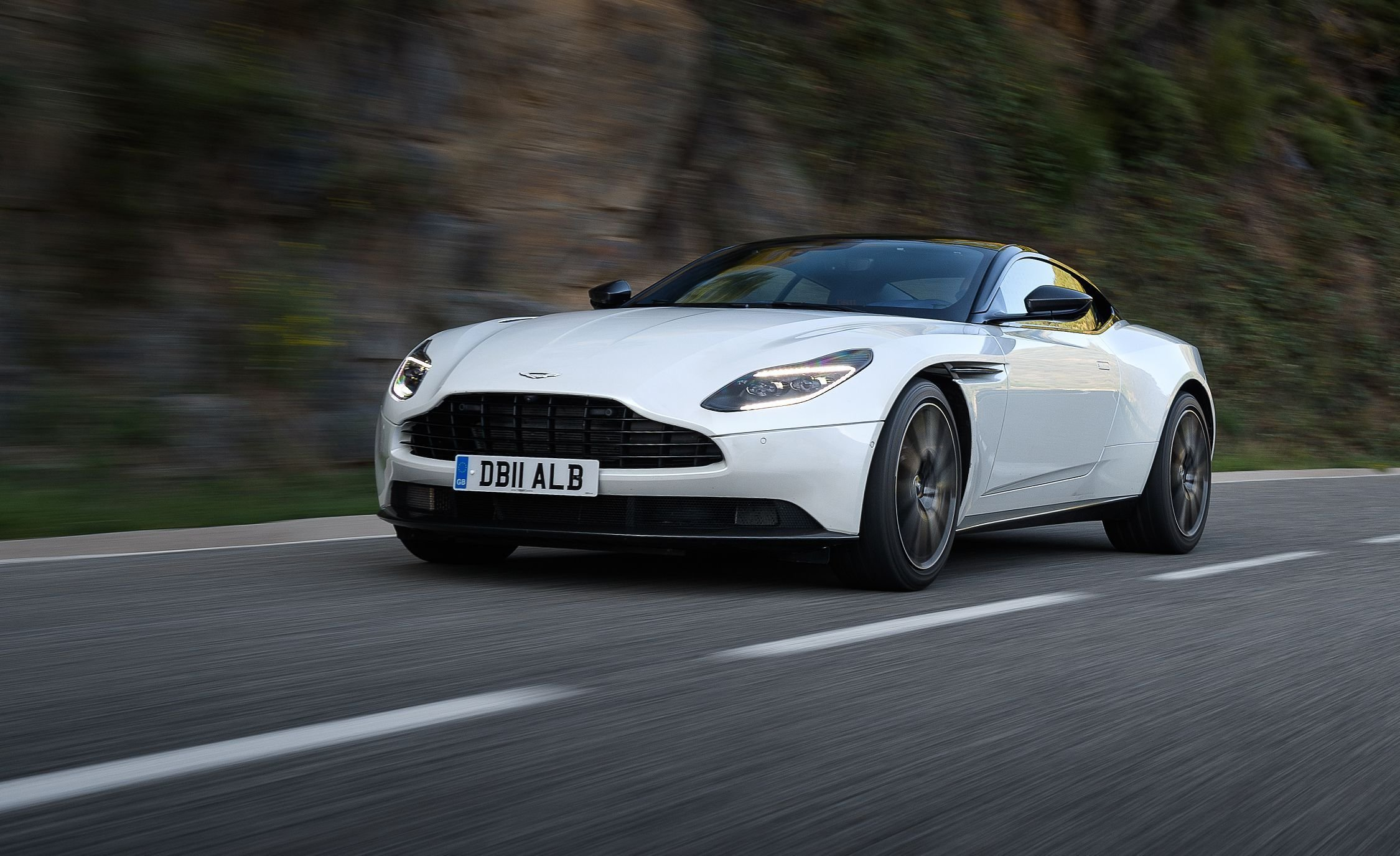Latest 2018 Aston Martin Db11 V 8 First Drive Review Car And Free Download