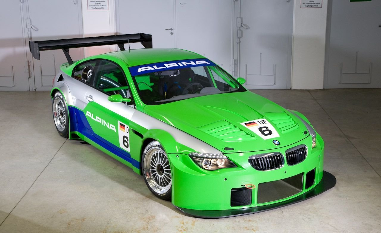 Latest Bmw Alpina B6 Gt3 Race Car Free Download