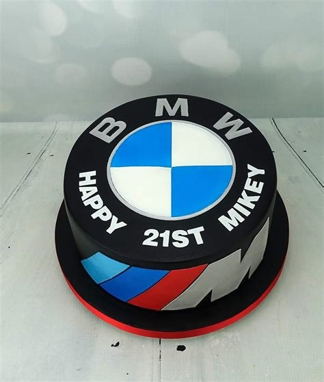 Latest Bmw Badge Cake For The Car Mad Mikey Angie Scott Cakes Free Download