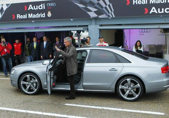 Latest Sb On Twitter Audi Day Mourinho Getting His New Audi Free Download