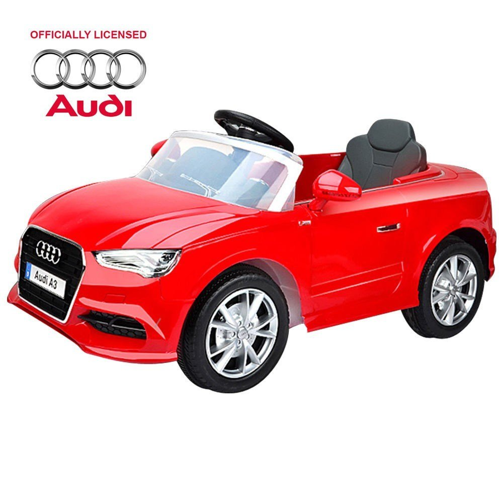 Latest Childrens Audi A3 Open Top Ride On Car Red Free Download