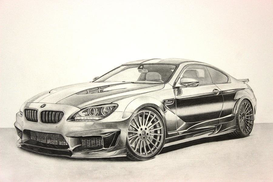 Latest Bmw M6 Drawing By Skincandy Nine Free Download