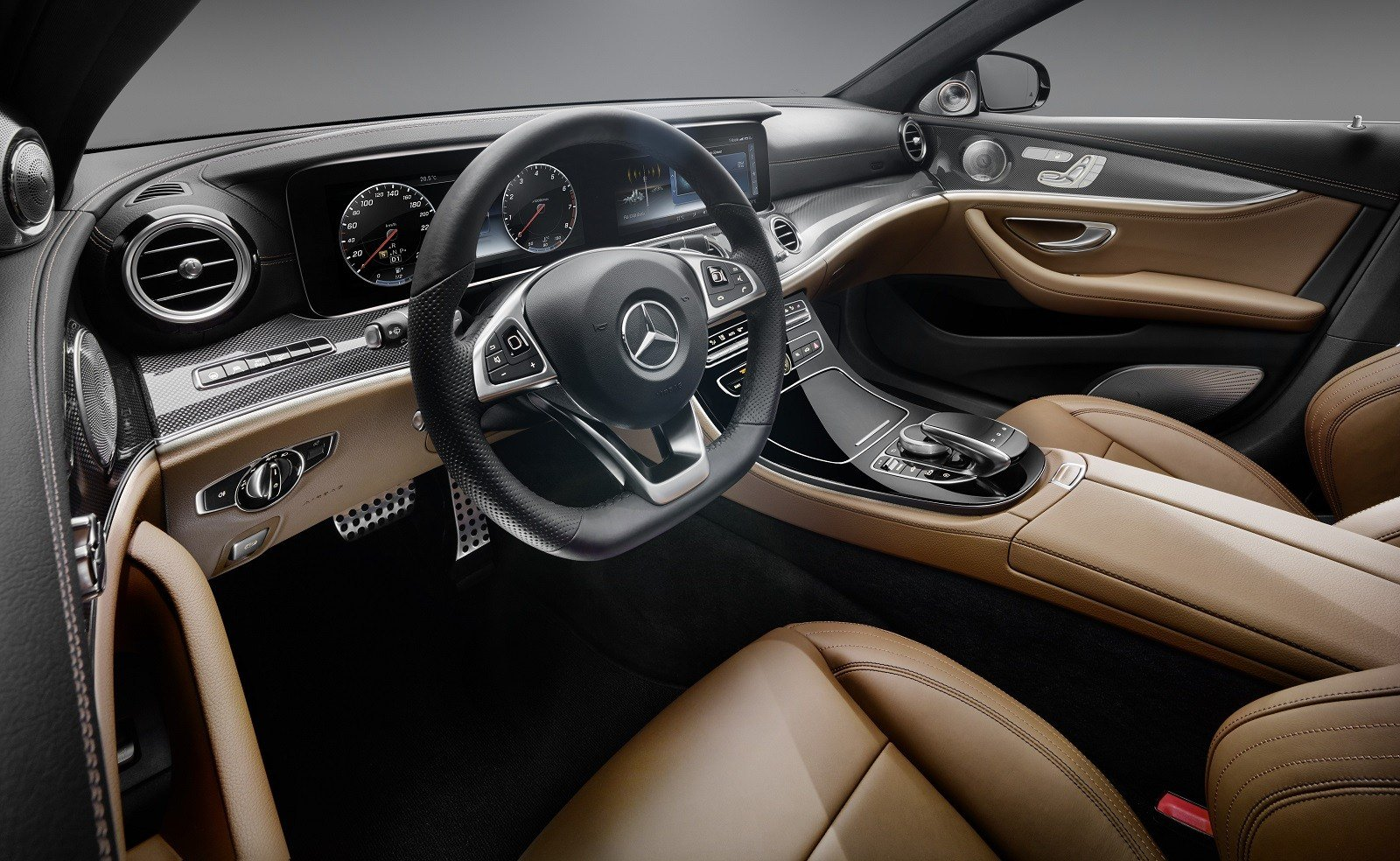 Latest 2017 Mercedes Benz E Class Interior Revealed All Glass Free Download