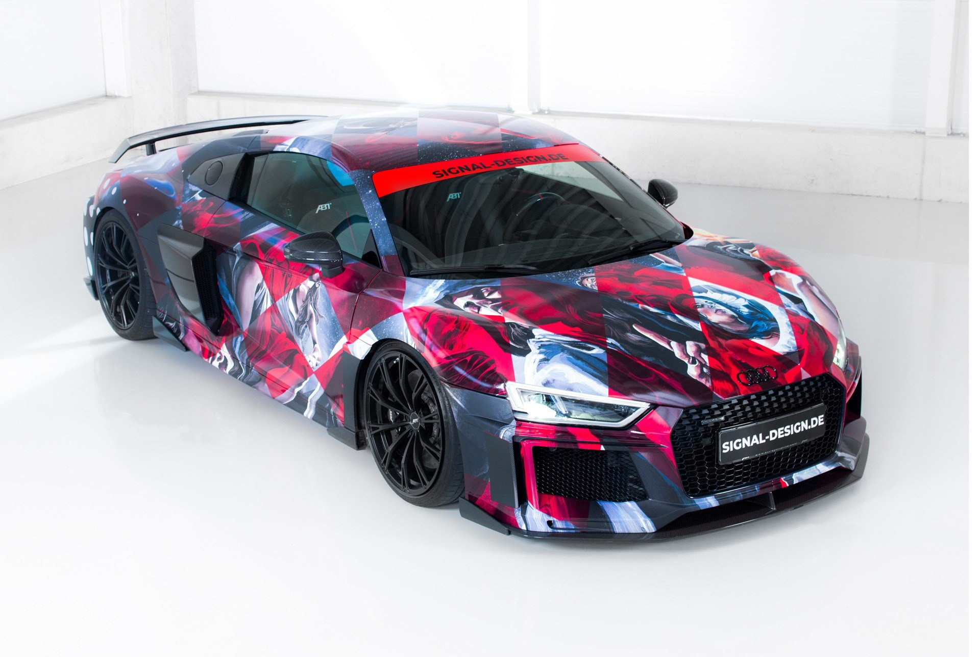 Latest Abt Sportsline Readies Audi R8 Art Car For 2018 Wörthersee Free Download