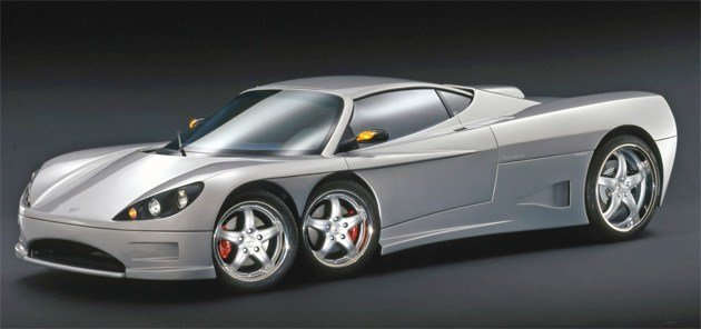 Latest Covini C6W Six Wheel Supercar To Enter Production In 2009 Free Download
