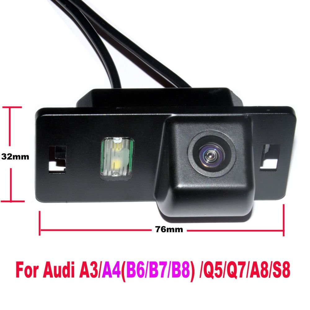 Latest Auto Car Reverse Rear View Backup Camera Audi A3 A4 B6 Free Download