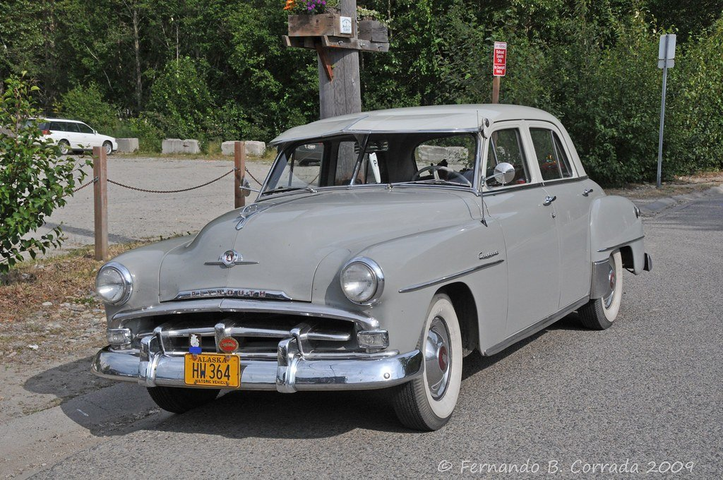 Latest 1952 Plymouth Cranbrook I Saw This Car In Skagway Free Download Original 1024 x 768