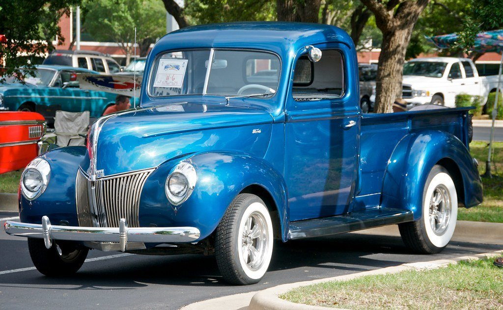 Latest Old Ford Pickup Truck ©2008 Alex Suárez All Rights Free Download