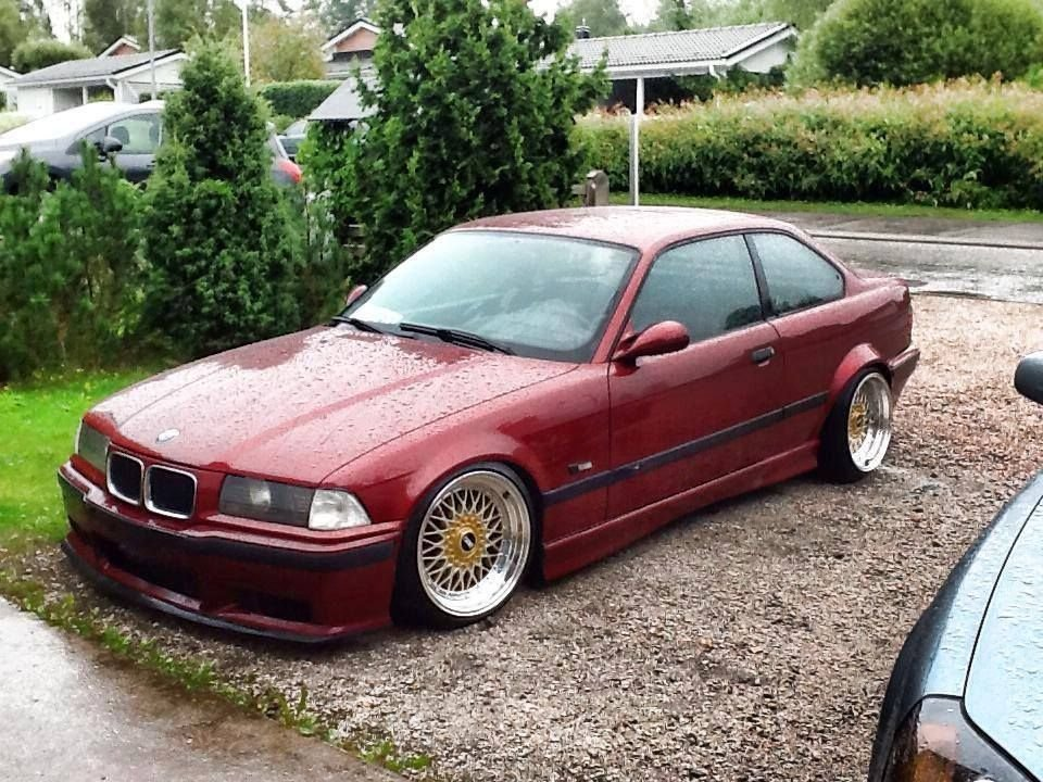 Latest Calypsorot Bmw E36 Coupe On Fantastic 17 Bbs Rs Cult Free Download