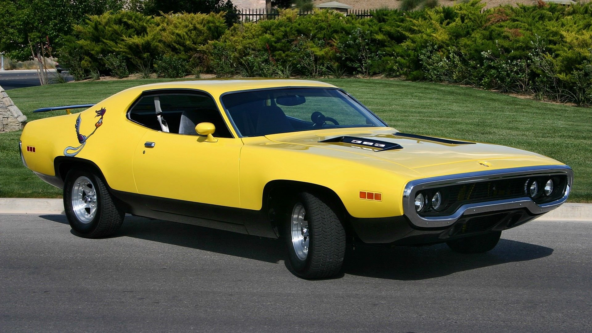 Latest Cars Plymouth 1973 Roadrunner Automotive Muscle Car Free Download