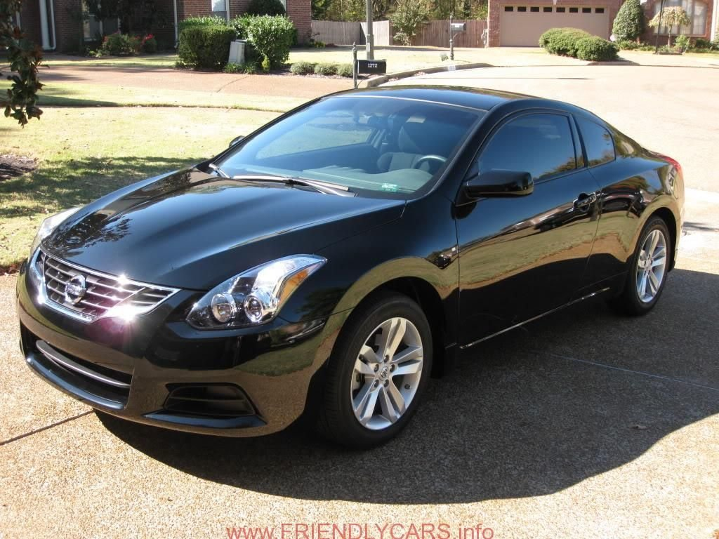 Latest Nice 2012 Nissan Altima Coupe Black Car Images Hd White Free Download