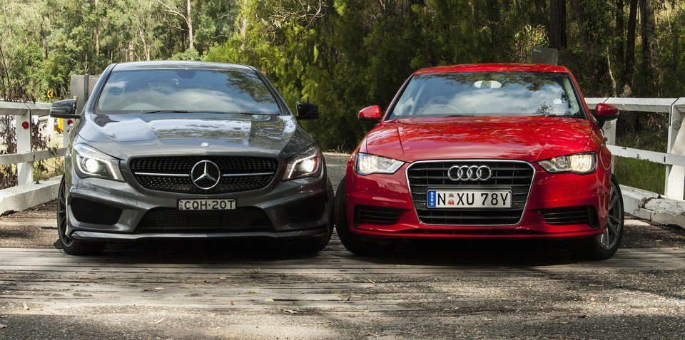 Latest Audi A3 Sedan V Mercedes Benz Cla Class Comparison Review Free Download