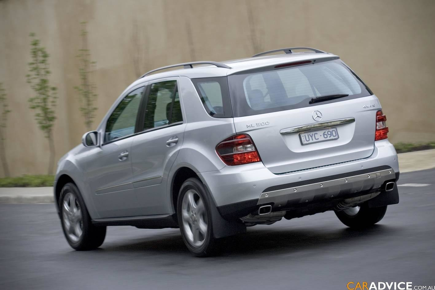 Latest 2008 Mercedes Benz Ml 500 4Matic Photos Free Download