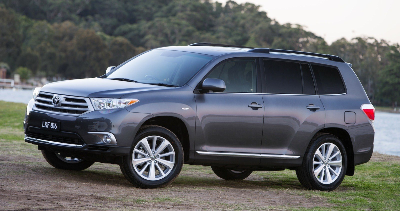 Latest Toyota Kluger Altitude Special Edition Released Photos Free Download
