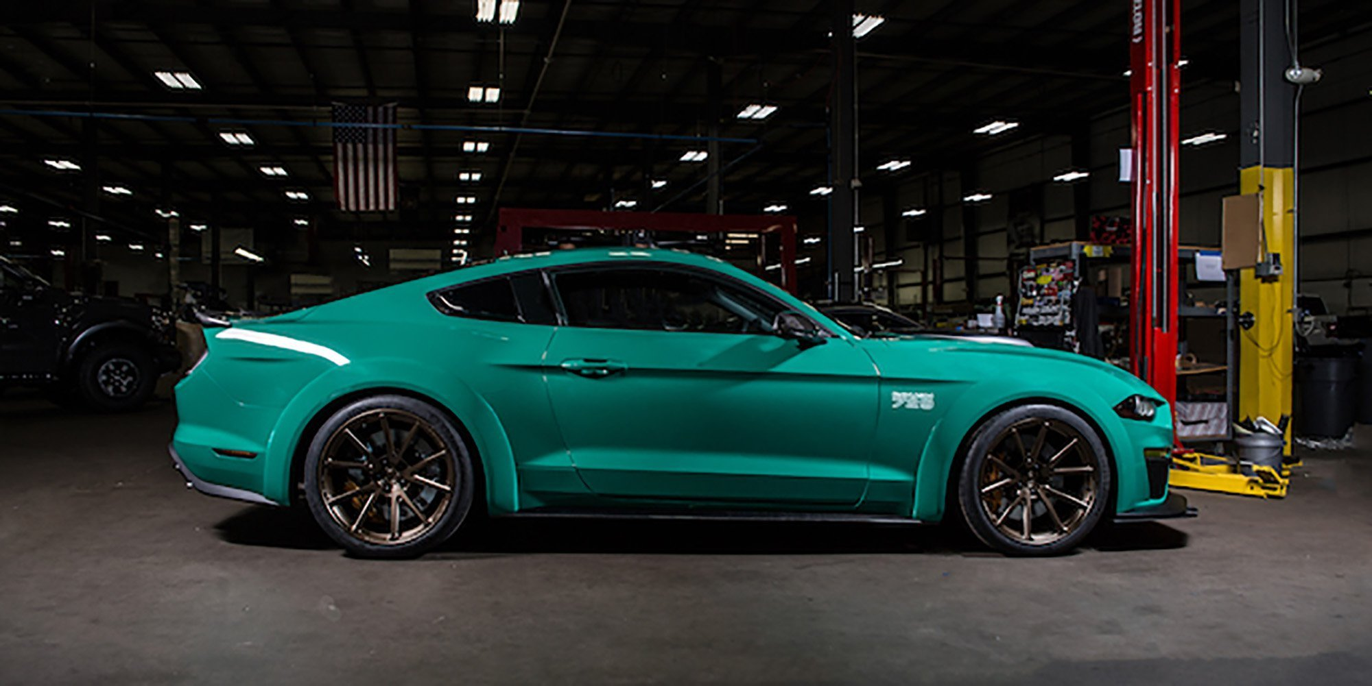 Latest 2018 Ford Mustang Roush 729 Makes La Debut Photos 1 Of 4 Free Download