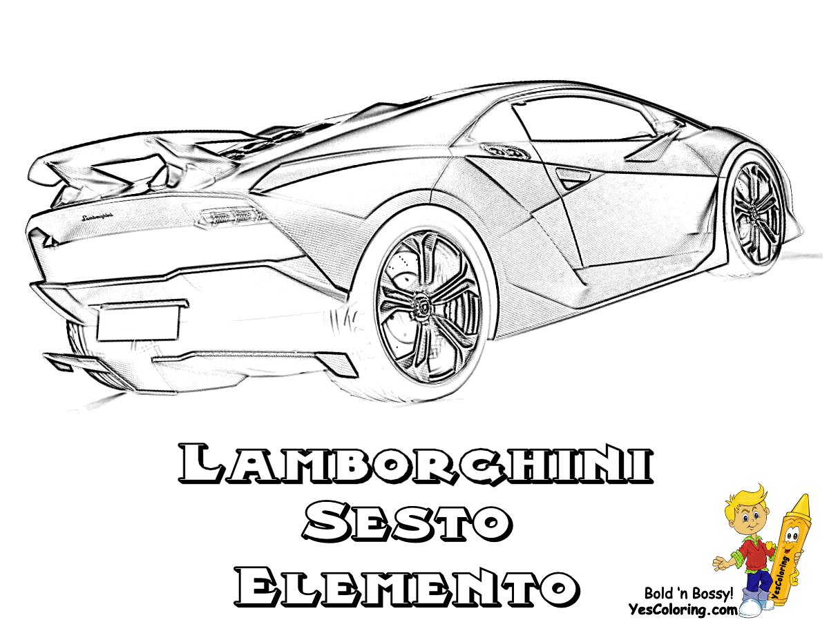 Latest Rich Relentless Lamborghini Cars Coloring Race Cars Free Free Download