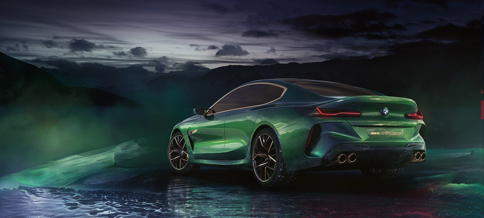 Latest Bmw Concept M8 Gran Coupé High Performance Luxury Bmw Free Download