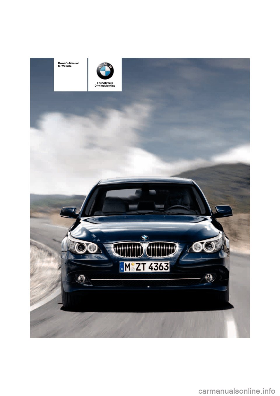 Latest Bmw 530I Touring 2007 E61 Owner S Manual Free Download