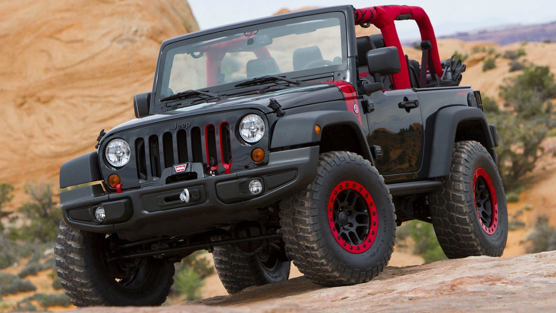 Latest 2014 Jeep Wrangler Level Red Concept Wallpapers And Hd Images Car Pixel Free Download