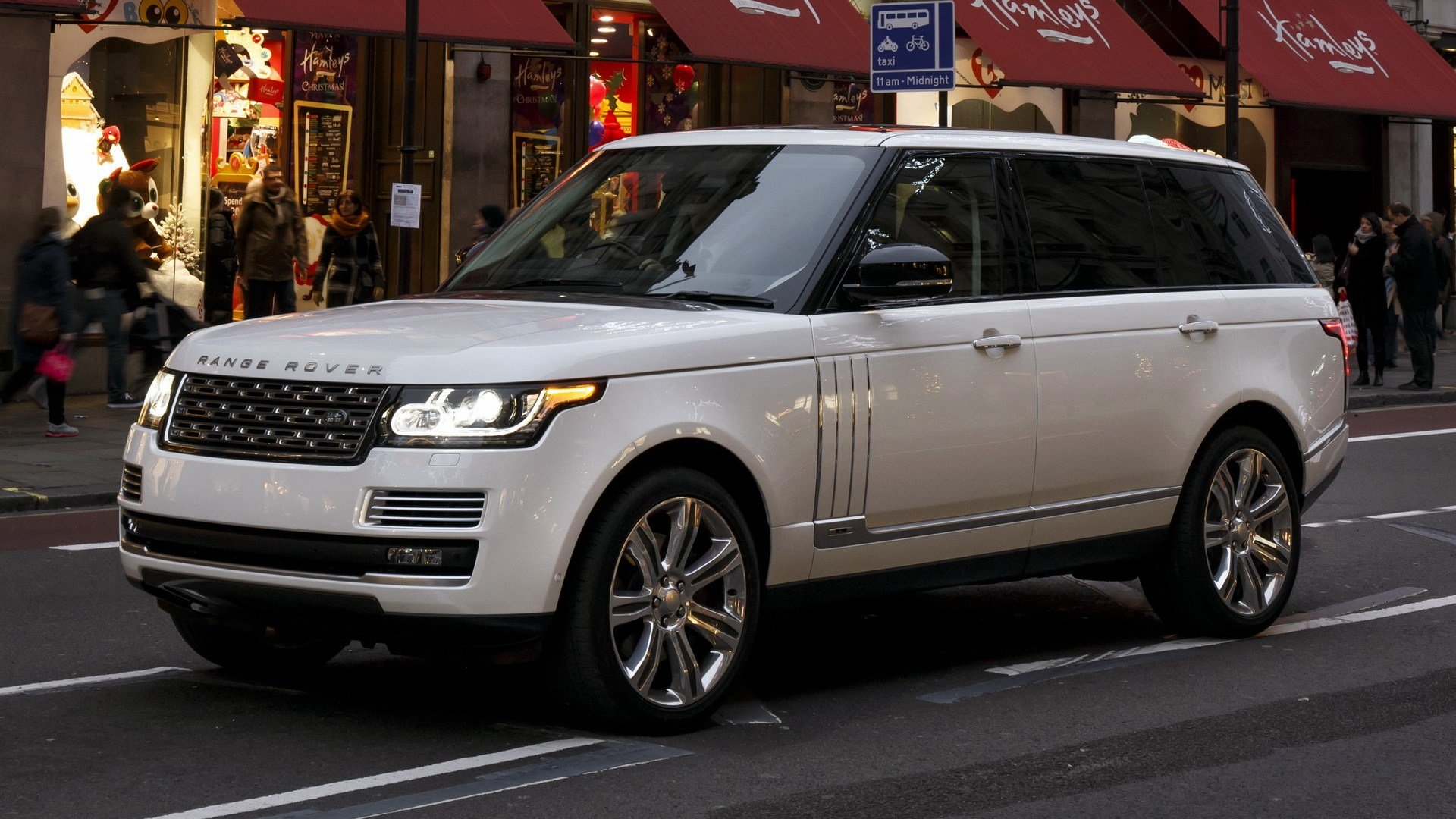 Latest 2014 Range Rover Autobiography Black Lwb Uk Free Download