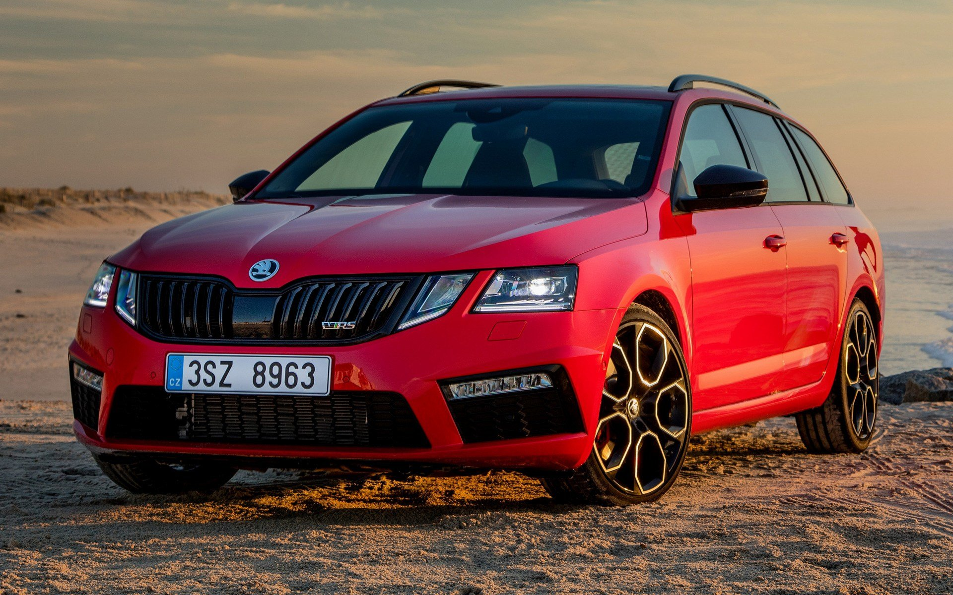 Latest 2017 Skoda Octavia Rs 245 Combi Wallpapers And Hd Images Free Download