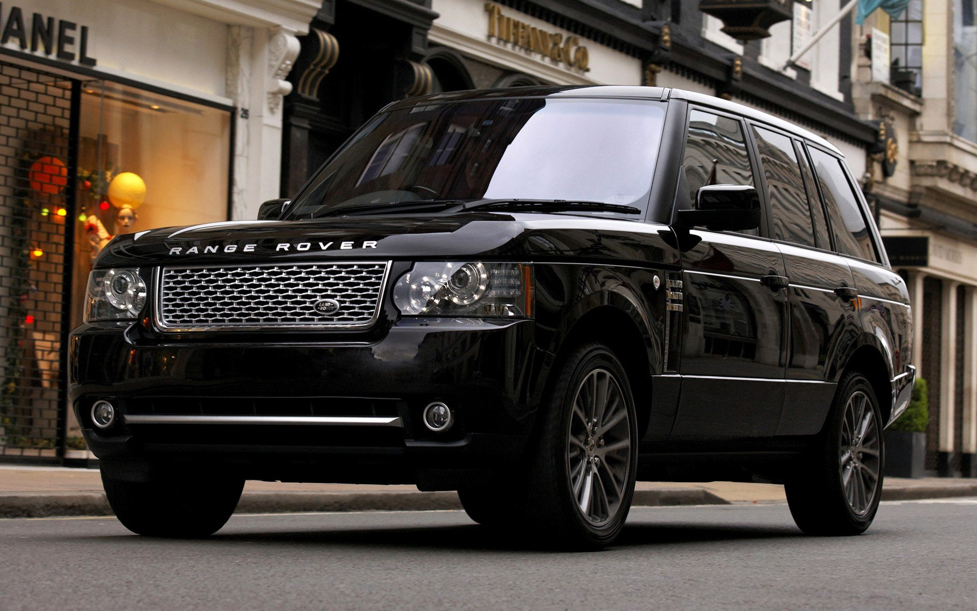 Latest 2010 Range Rover Autobiography Black Uk Wallpapers And Free Download