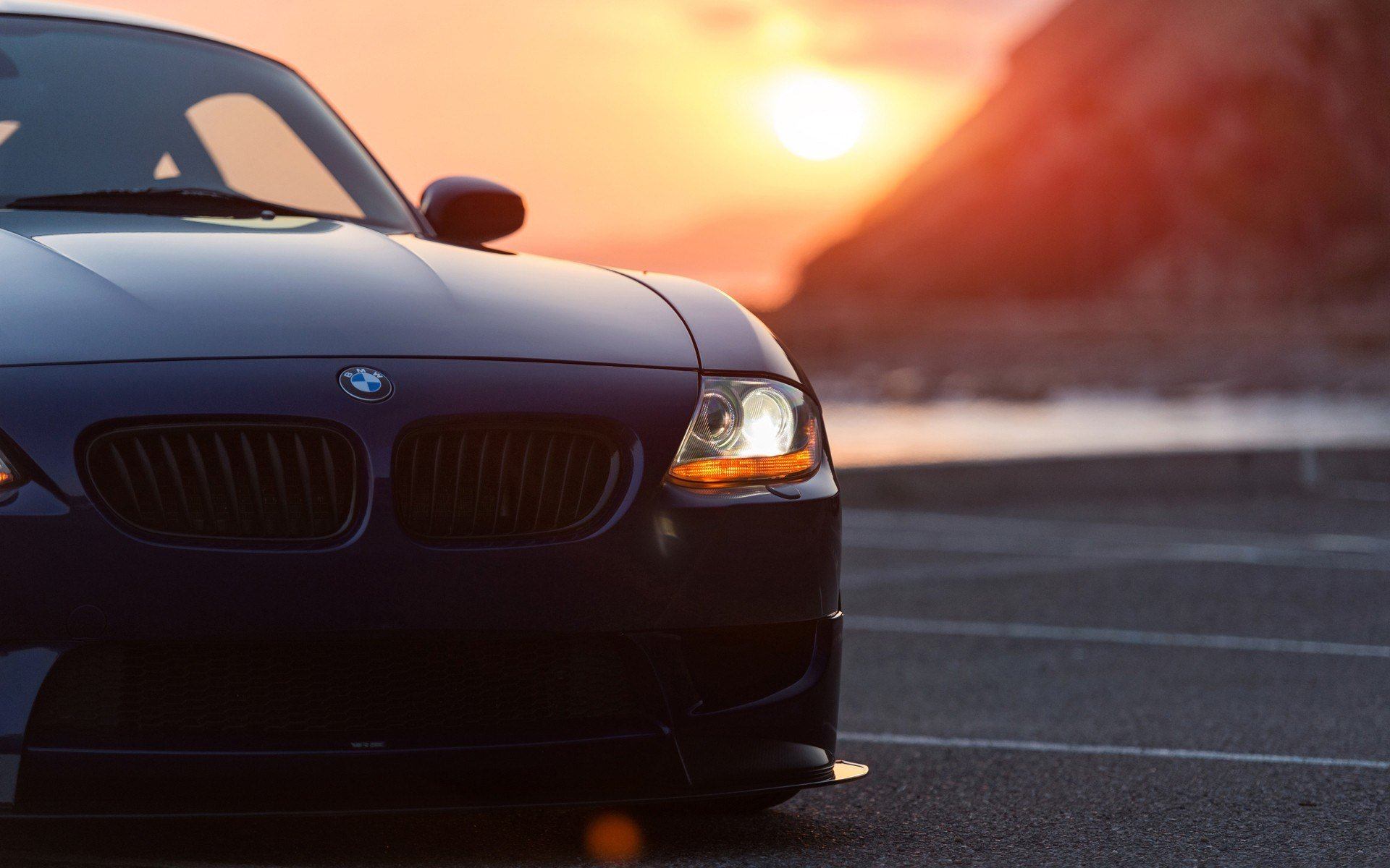 Latest Bmw Car Sunset Bmw Z4 Wallpapers Hd Desktop And Free Download