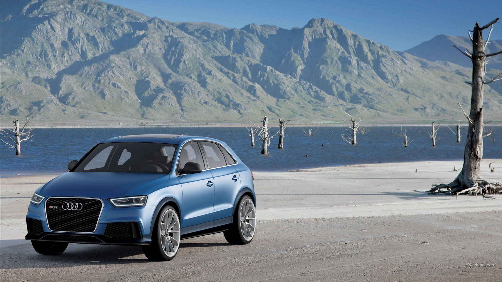 Latest Audi Q3 Car Blue Cars Wallpapers Hd Desktop And Mobile Free Download