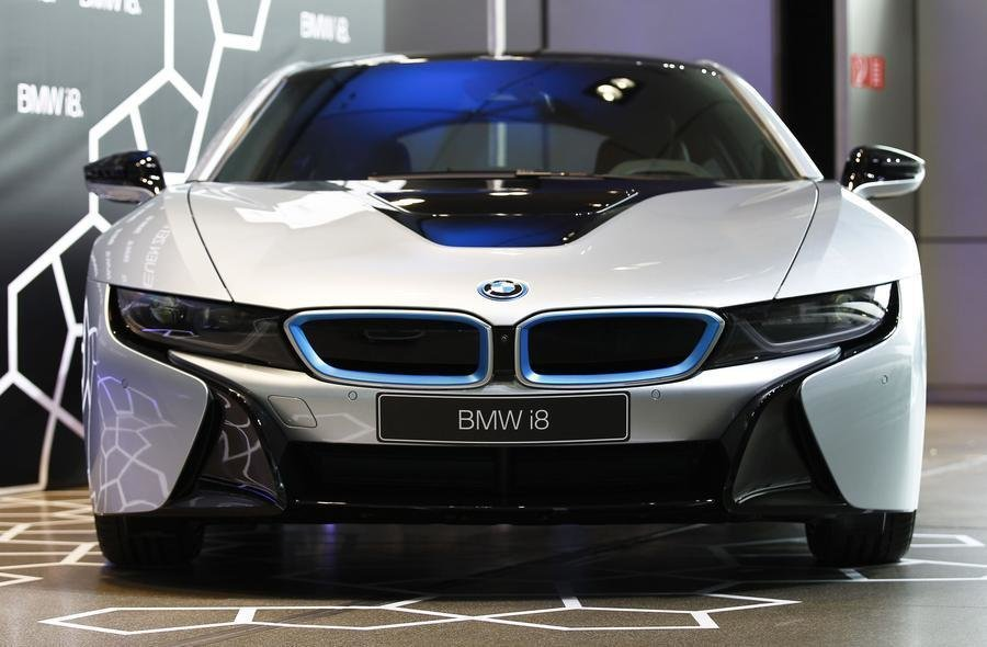 Latest New Bmw I8 Plug In Hybrid Sports Car Delivered 1 Free Download