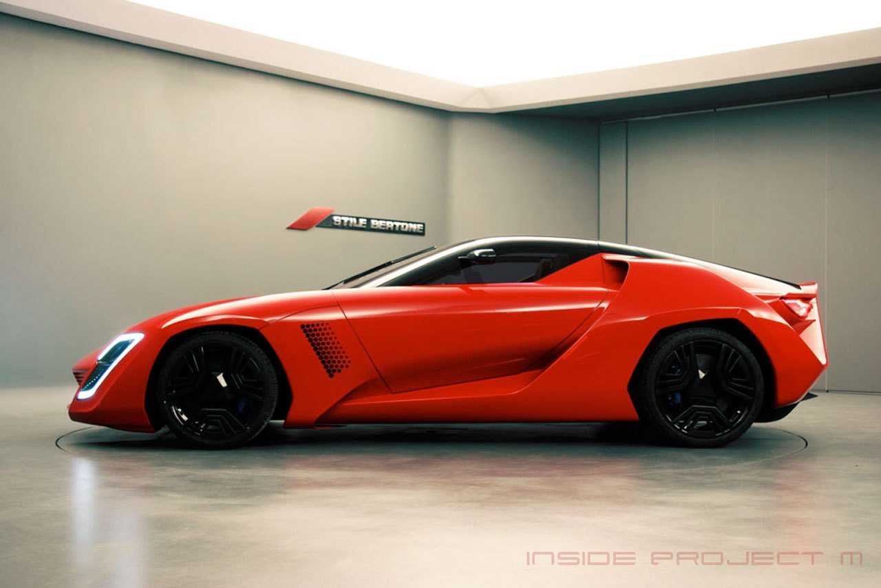 Latest Cool New Info Bertone Mantide Concept Free Download