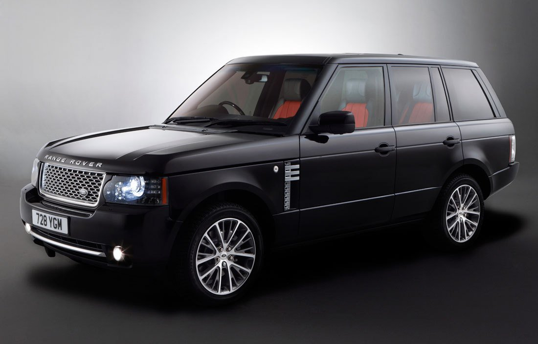 Latest Land Rover Range Rover Autobiography Black 2011 Cartype Free Download