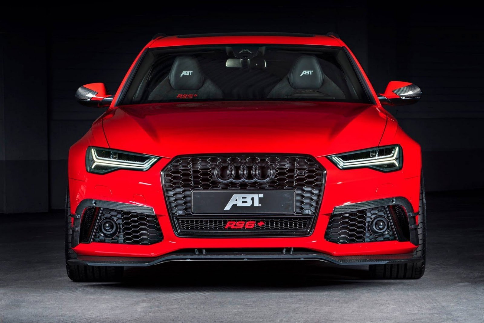 Latest Audi Rs By Abt Sportsline Shines All In Red Carz Tuning Free Download