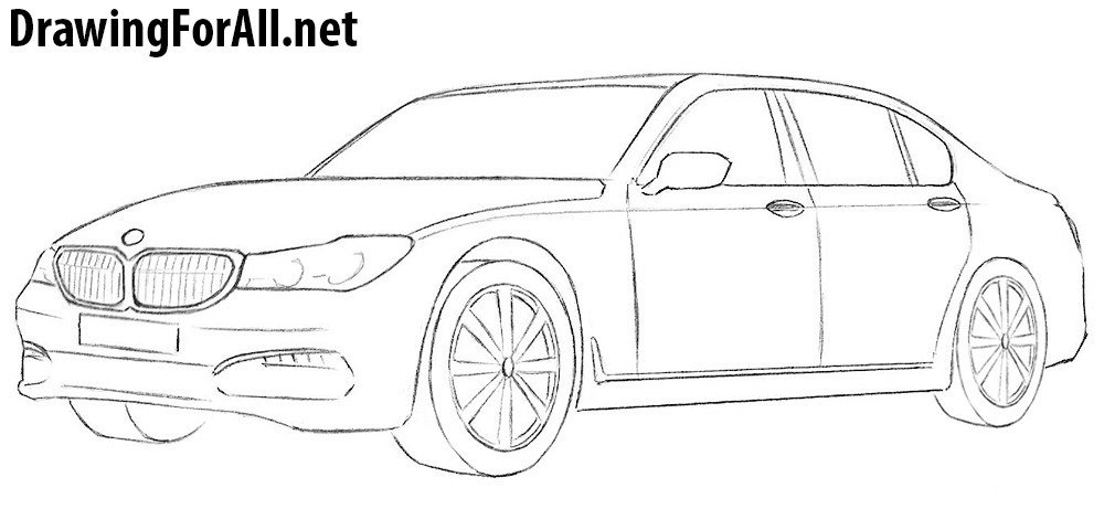 Latest How To Draw A Bmw Drawingforall Net Free Download
