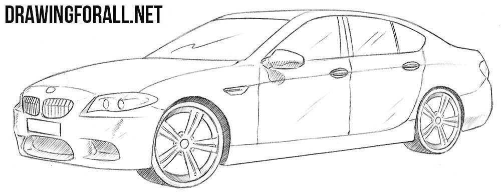 Latest How To Draw A Bmw M5 Drawingforall Net Free Download