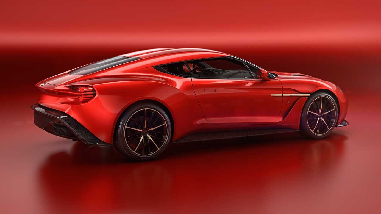 Latest Aston Martin Cars News Vanquish Zagato Concept Unveiled Free Download