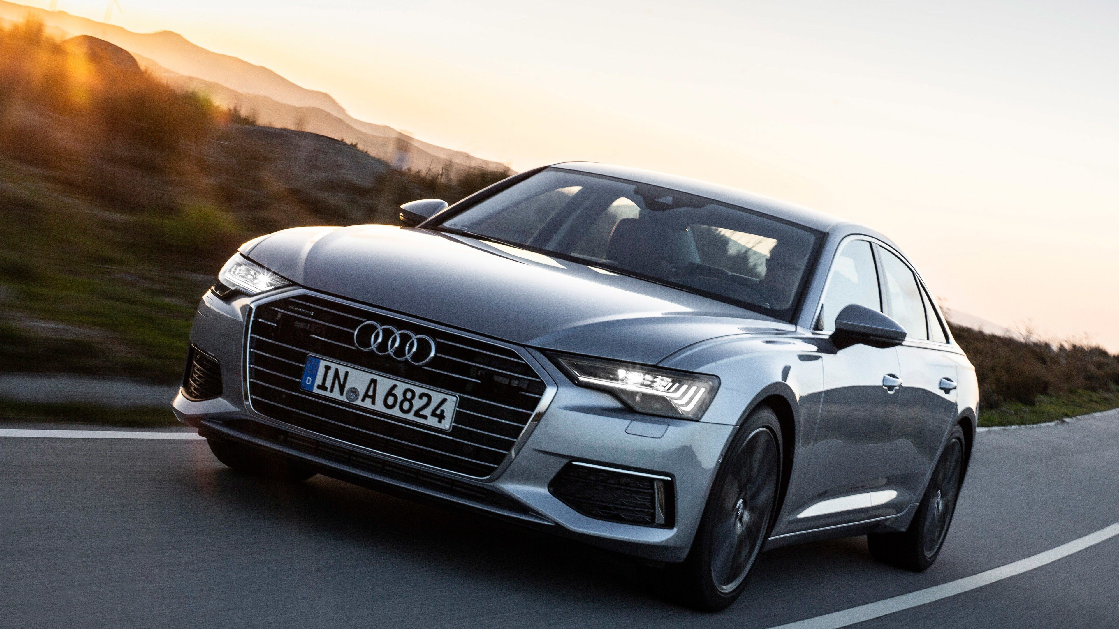 Latest Audi A6 4K Car Hd Wallpapers Free Download