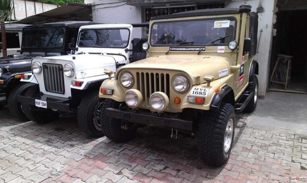 Latest Images For Mahindra Jeep Free Download