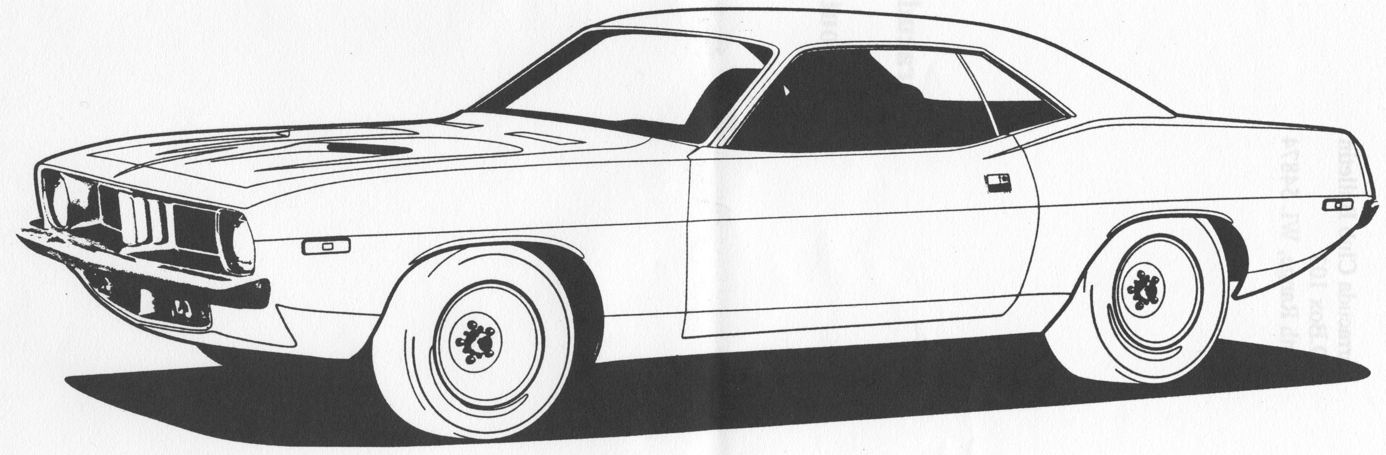 Latest Muscle Car Coloring Pages To Download And Print For Free Free Download Original 1024 x 768