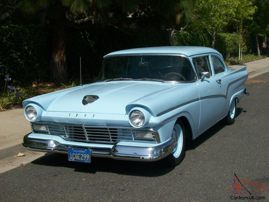 Latest 1957 Ford Custom 300 2 Door Free Download