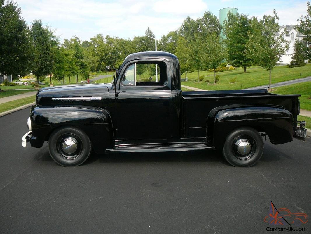 Latest 1951 Ford F 1 Flathead V8 Pick Up Truck Free Download Original 1024 x 768