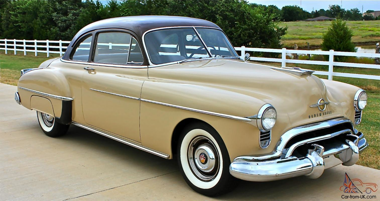 Latest 1950 Oldmobile Rocket 88 2 Door Club Coupe Free Download