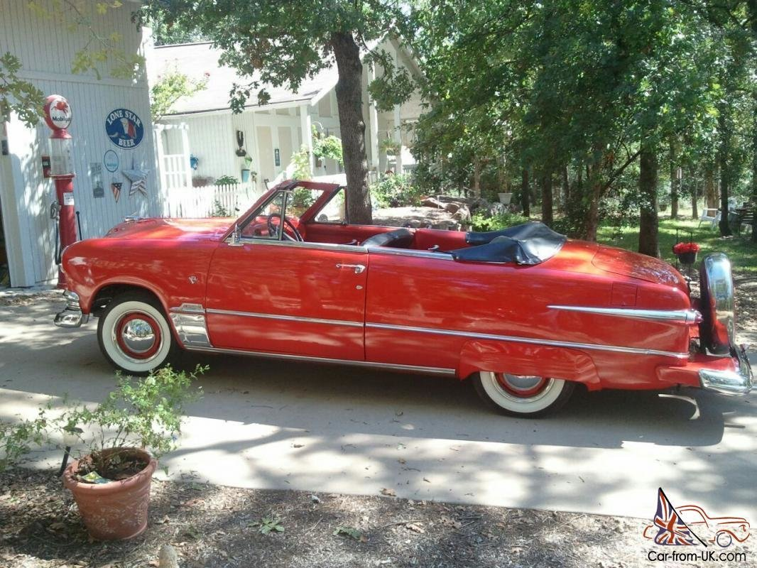 Latest 1951 Ford Convertible Free Download Original 1024 x 768