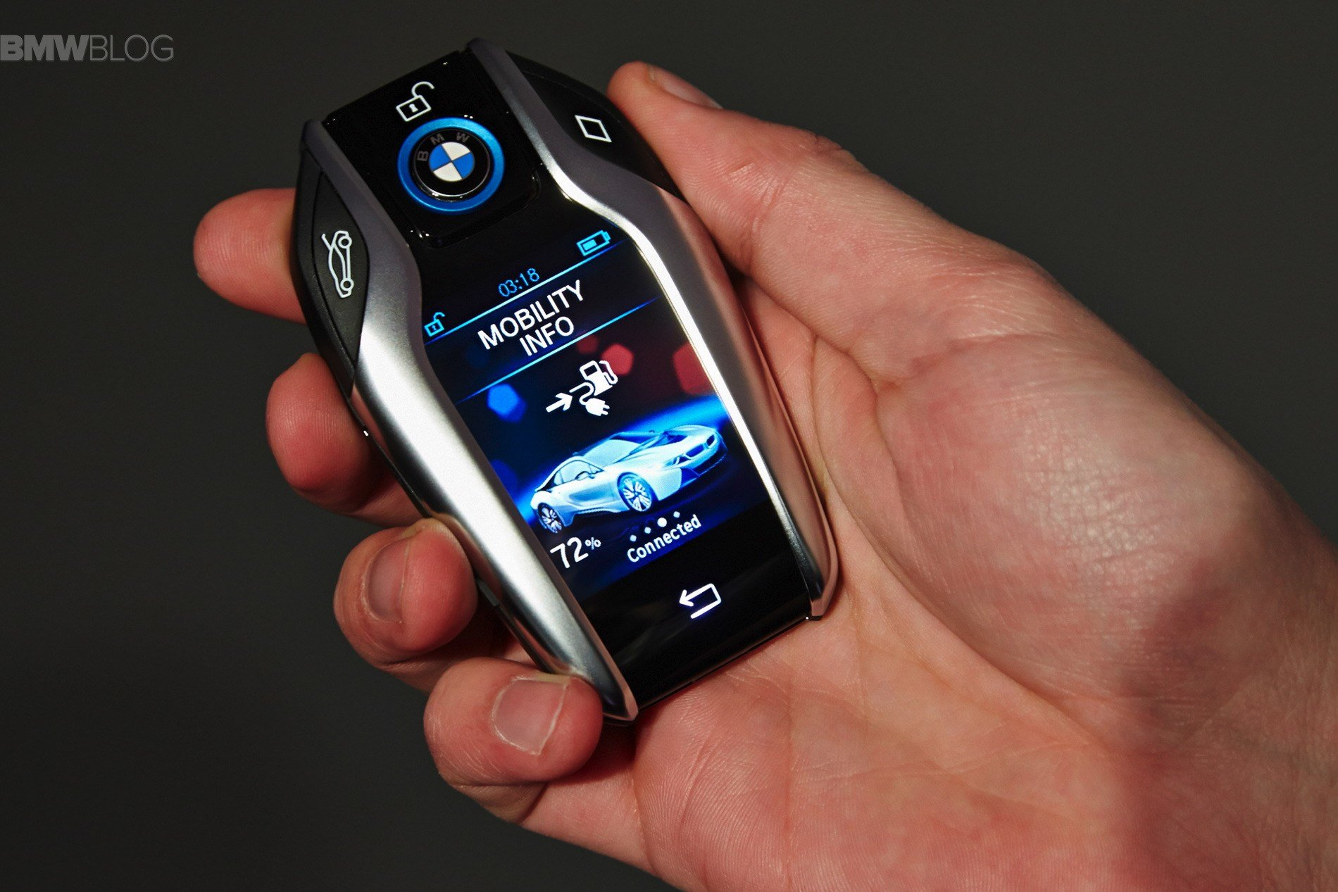 Latest Bmw Introduces The Key Fob With Touchscreen Display Free Download