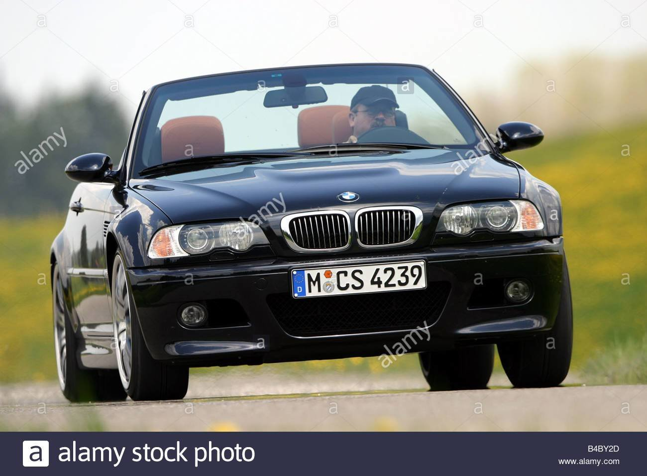 Latest Car Bmw M3 Convertible Model Year 2003 Black Open Top Free Download