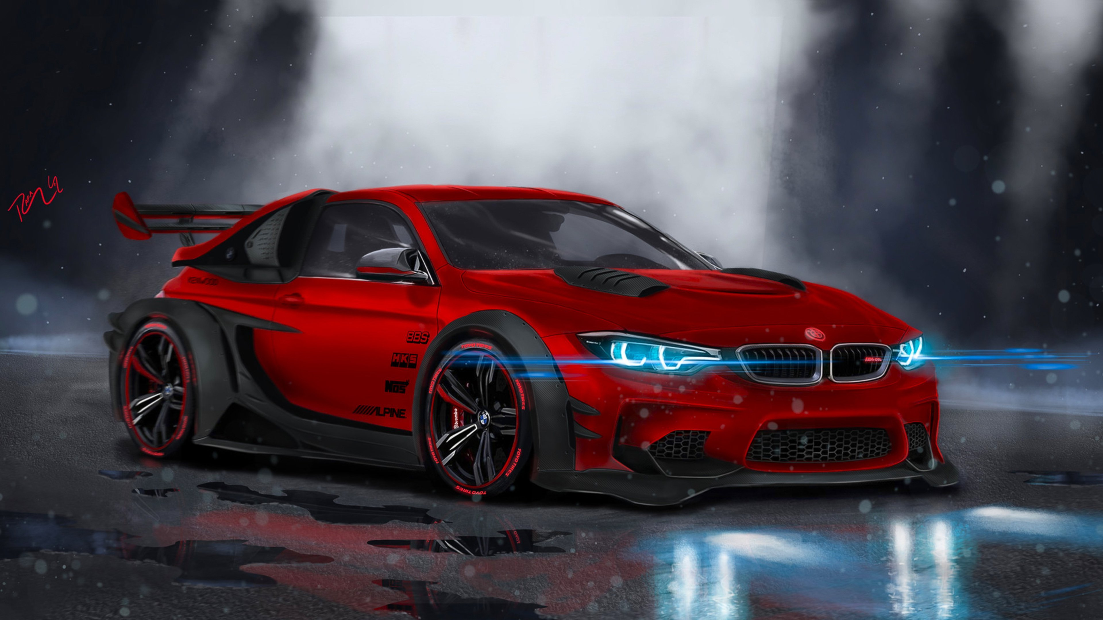 Latest Bmw M4 Highly Modified Hd Cars 4K Wallpapers Images Free Download