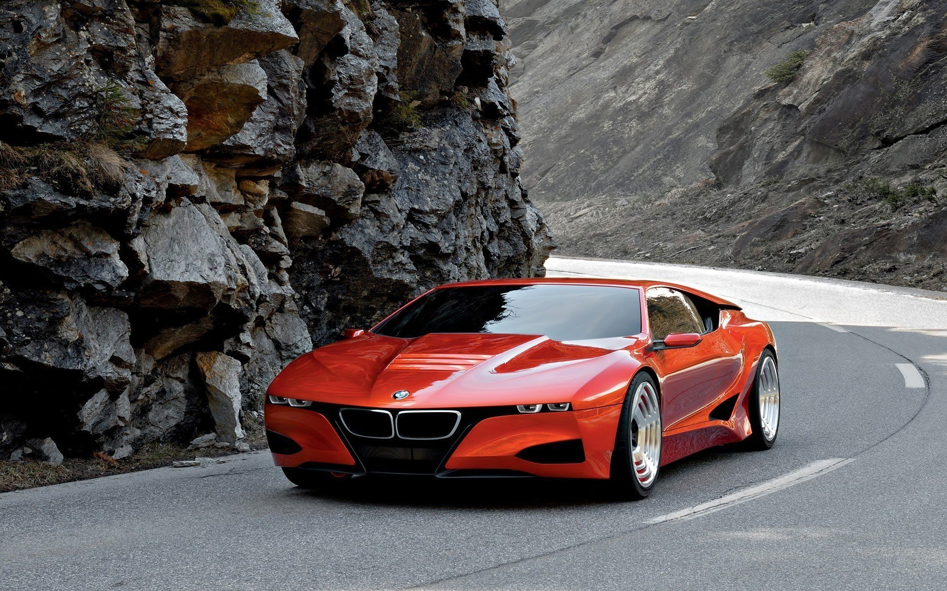 Latest Download Wallpaper Concept Red Sports Car Bmw Photo Cars Free Download