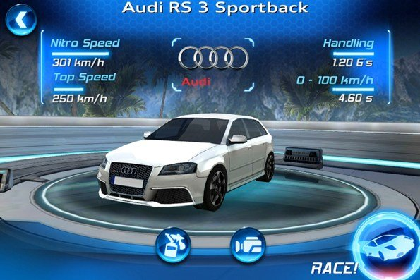 Latest Audi Rs3 Sportback Iphone Game Hinting At Us Launch Free Download